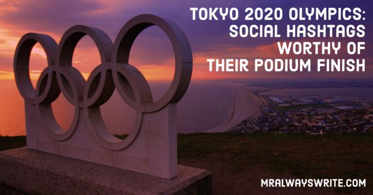 Tokyo 2020 Olympics, Hashtags